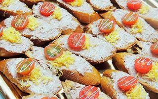 Comida a domicilio con nuestro catering en Barcelona
