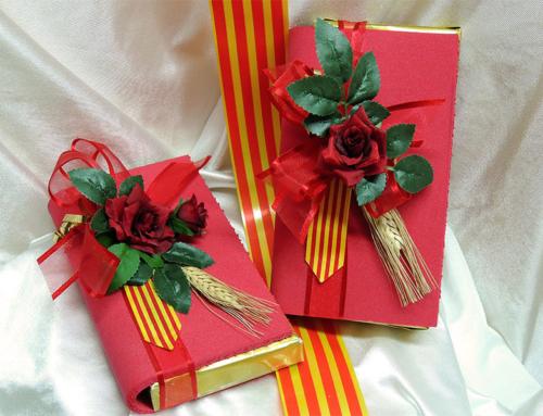 Cookies, bombones y pasteles para Sant Jordi