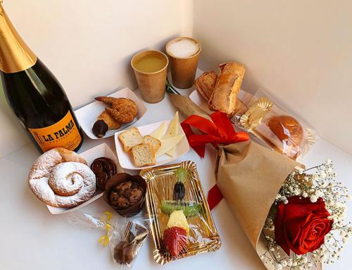 Esmorzar romàntic  + Rosa